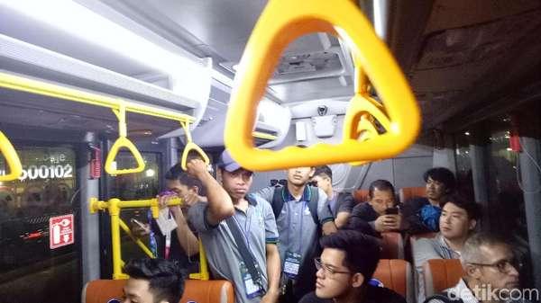 Fasilitas Bus Asian Games 2018 di GBK Belum Efektif