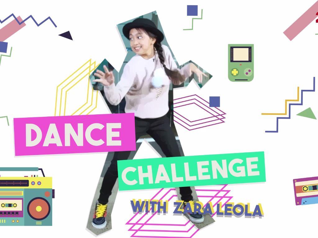 Saat Zara Leola Ditantang Nge-Dance, Hmm Kira-Kira Bisa Nggak Ya?