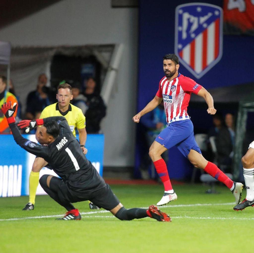 Atletico Akhirnya Menang atas Madrid di Laga Final, Costa Lega