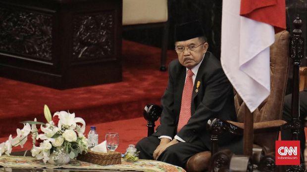 Wakil Presiden RI Jusuf Kalla akan mematikan api