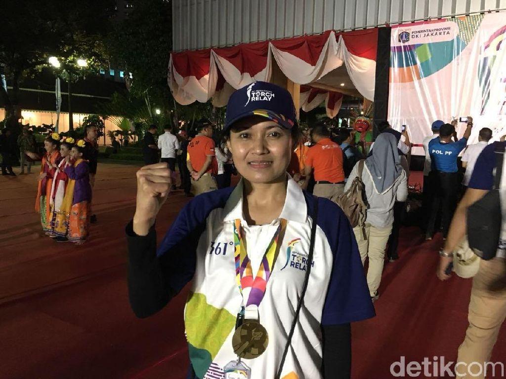 Tips Sehat dari Atlet Pembawa Obor Asian Games 2018: Positive Thinking!