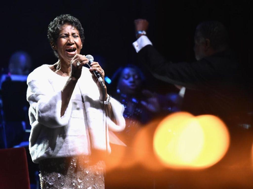 Grammy Bikin Konser Penghormatan untuk Aretha Franklin