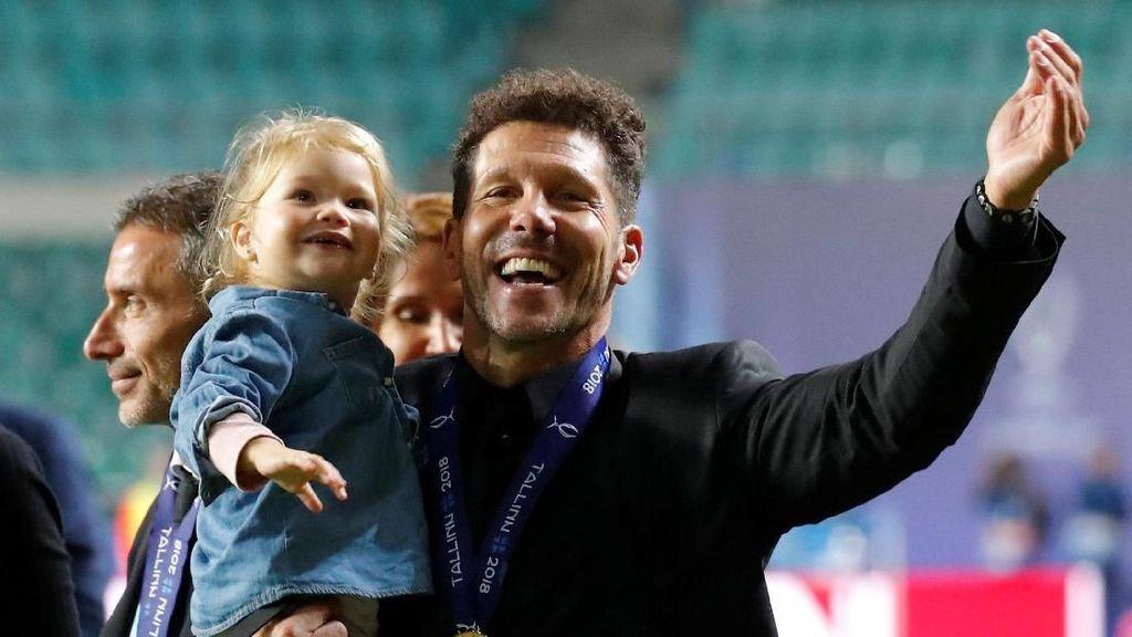 Rekor Simeone dalam Sukses Atletico Menangi Piala Super Eropa