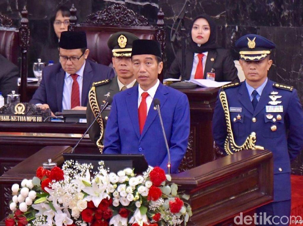 Jokowi: Pertama Kalinya Kemiskinan Turun ke Satu Digit