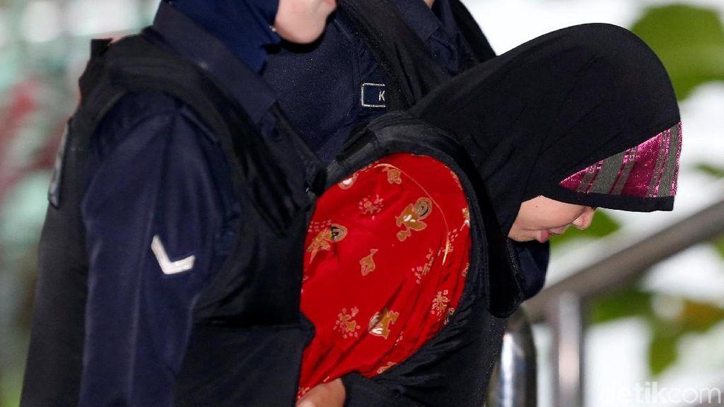 Dikawal Polisi Bersenjata, Siti Aisyah Hadiri Sidang Pembunuhan Kim Jong-Nam