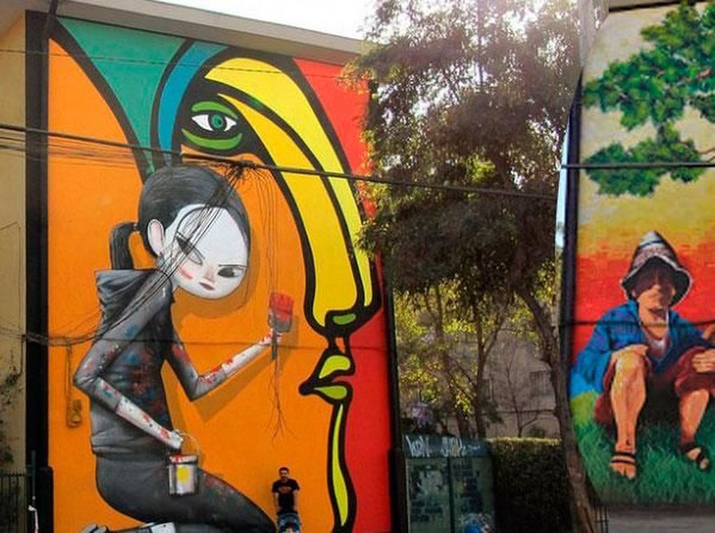 Potret Kampung Kumuh yang Jadi Museum Seni Mural