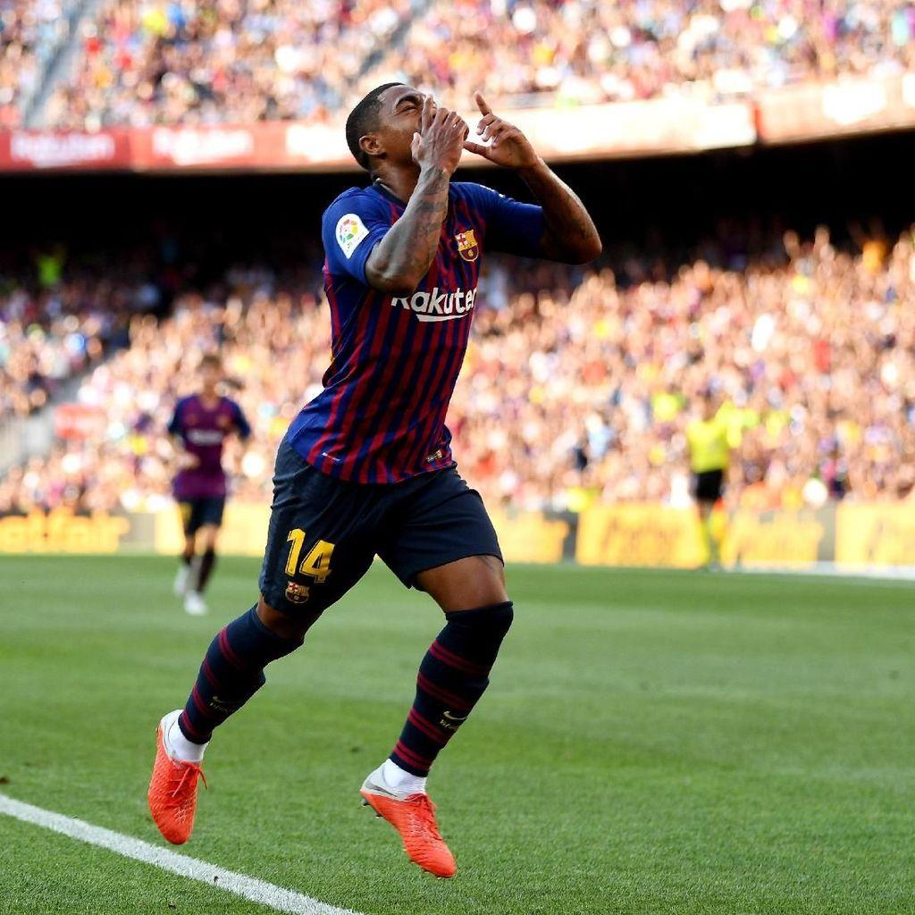 Atmosfer Camp Nou Bikin Malcom seperti Sedang Mimpi