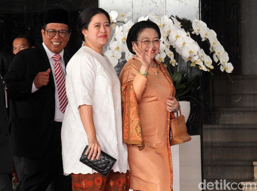 Megawati dan Para Tokoh Hadiri Sidang Tahunan MPR