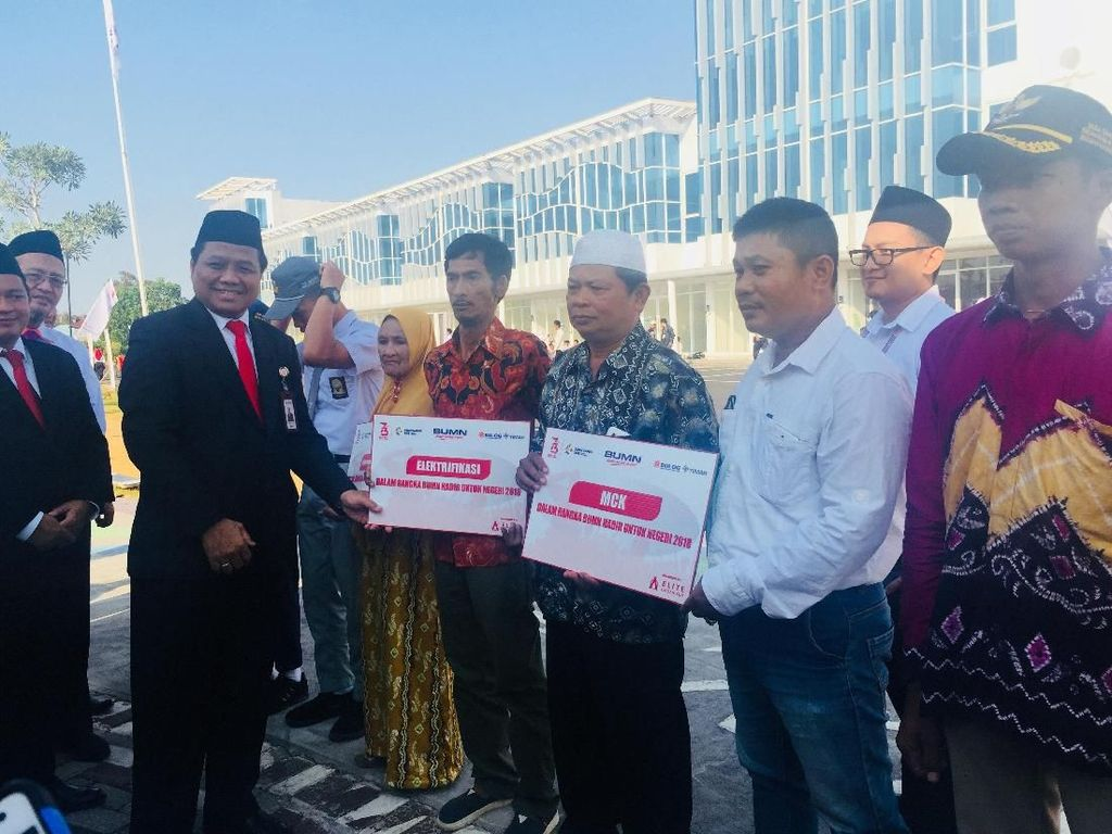 HUT RI ke-73, Bulog Salurkan Bantuan Rp 4,7 M untuk Warga Kalsel