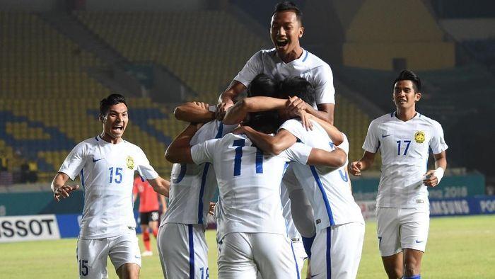 Malaysia mengalahkan Korea Selatan 2-1 di Asian Games 2018 (Foto: INASGOC/Bukbis Candra Ismet Bey)