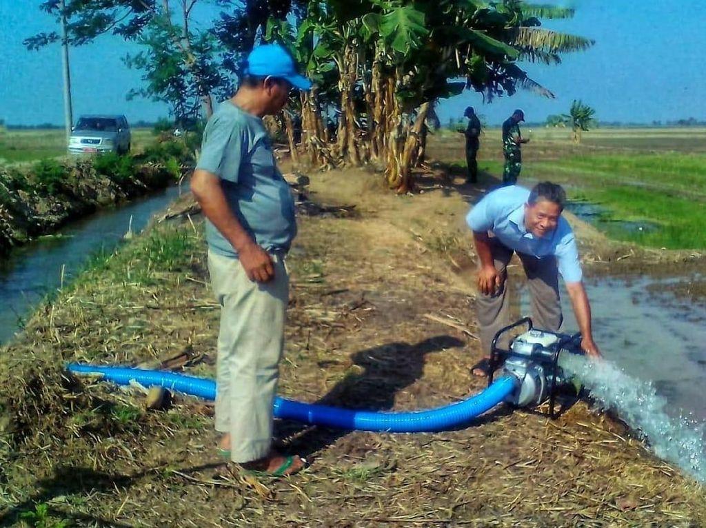 Cegah Kekeringan, 9 Desa di Karawang Dipompanisasi