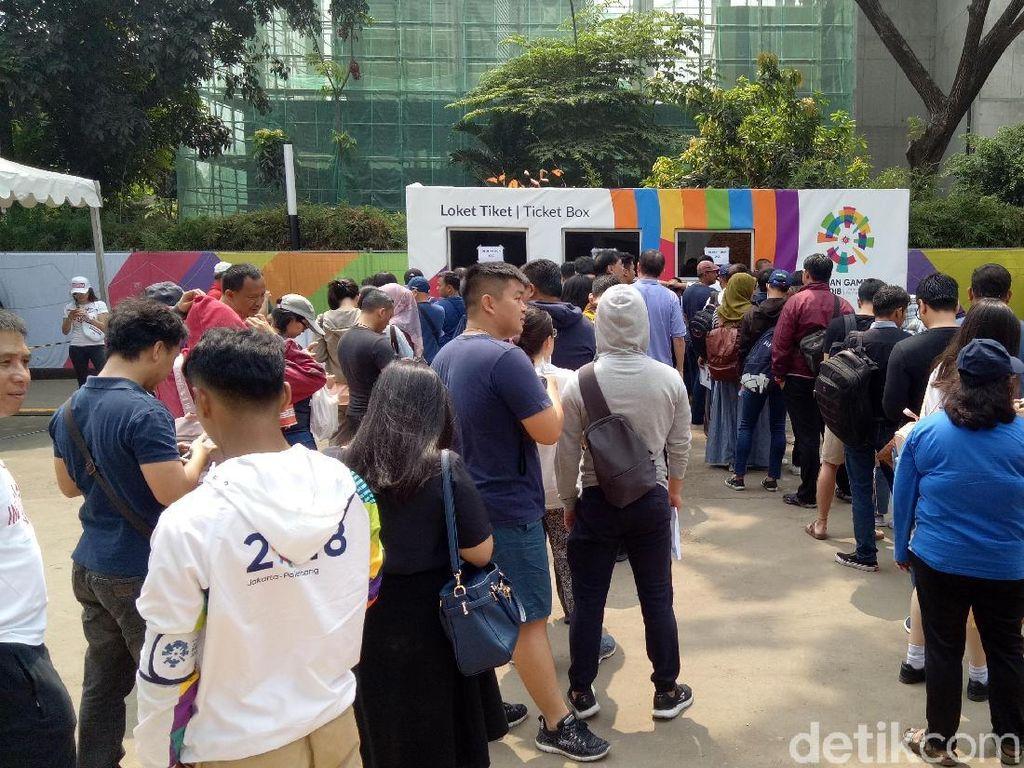 Dua Calo Tiket Asian Games di GBK Ditangkap Polisi