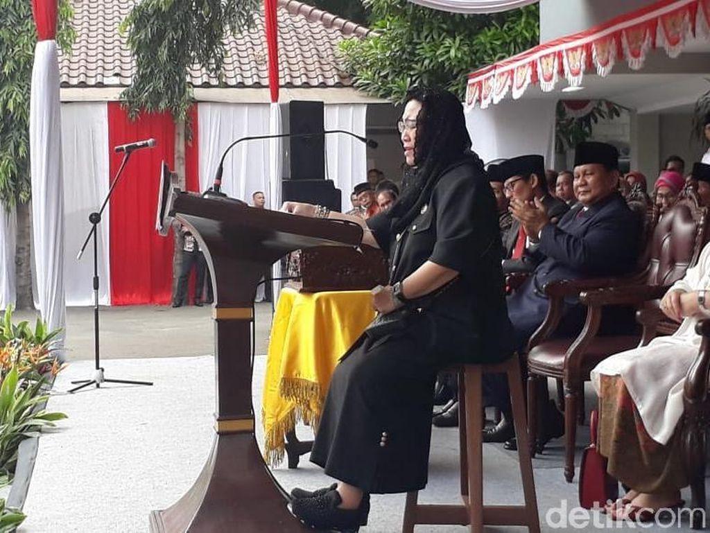 Upacara di UBK, Rachmawati Minta Rakyat Tak Salah Pilih Pemimpin