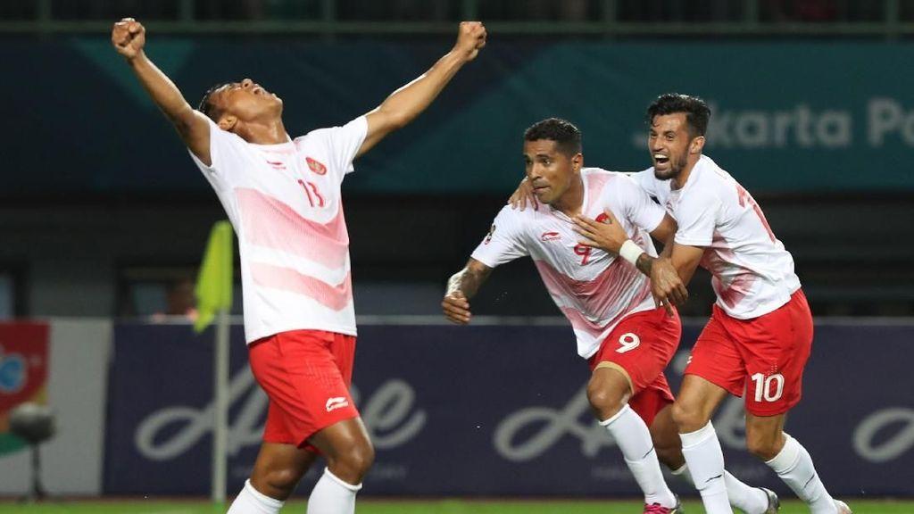 Klasemen Sepakbola Asian Games 2018: Indonesia Masih di Urutan Tiga