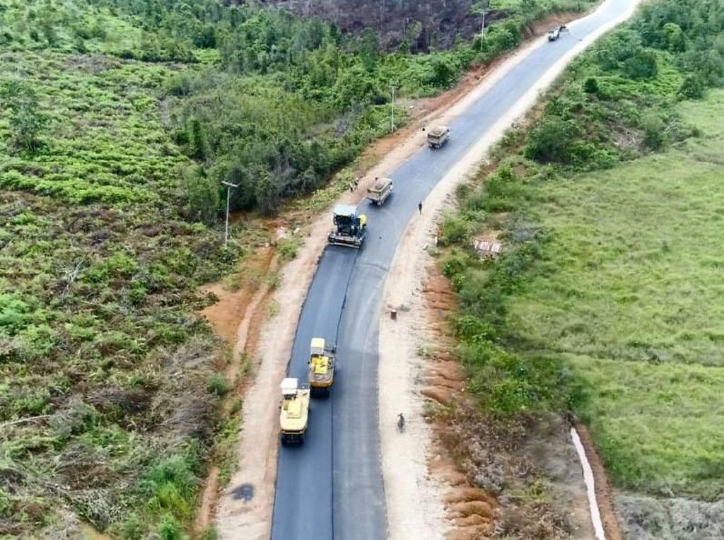 Jokowi Bangun 1.067 Km Jalan di Perbatasan dalam 4 Tahun
