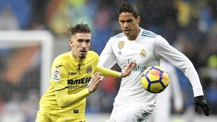 Samuel Castillejo direkrut AC Milan dari Villarreal (Foto: Gabriel Bouys/AFP)