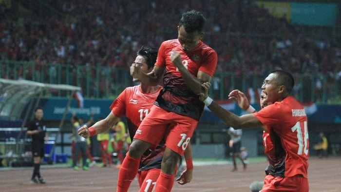 Timnas Indonesia dijagokan menang telak atas Laos hari ini (INASGOC/Hery Sudewo/Sup/18)