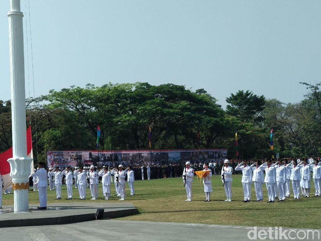 Upacara HUT RI, Pj Gubernur Iriawan Sampaikan Kemajuan Jabar
