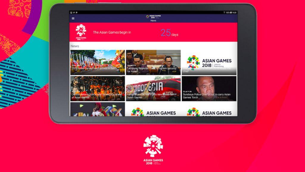 Deretan Aplikasi Semarakan Asian Games 2018
