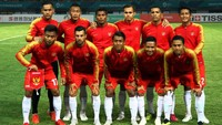 Indonesia Tertinggal 0-1 dari Hong Kong di Babak Pertama