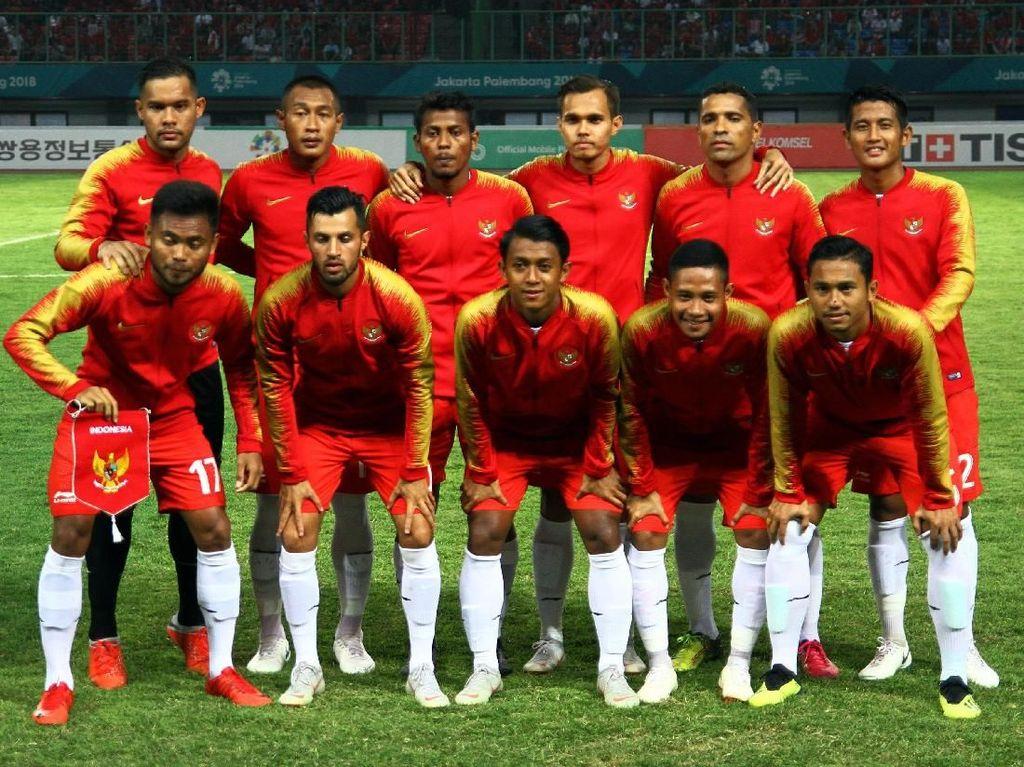 Suporter Tambah Motivasi Evan Dimas cs Jelang Indonesia vs Hong Kong