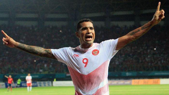Beto Goncalves mencetak dua gol untuk membantu Indonesia mengalahkan Laos 3-0 (Foto: INASGOC/Hery Sudewo)