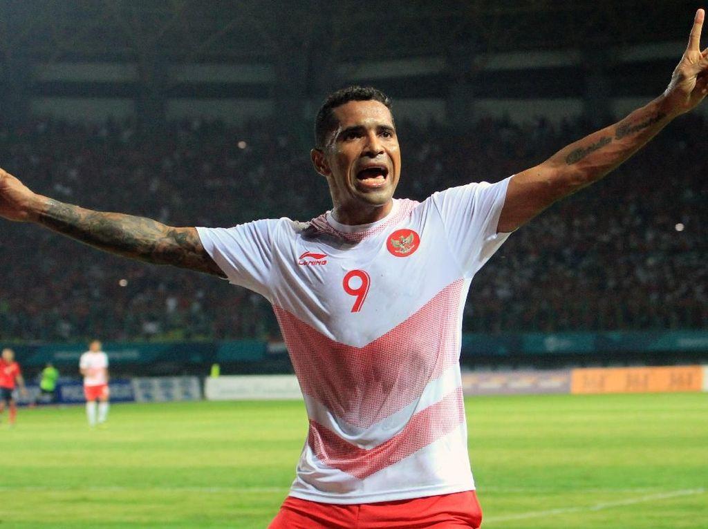 Hasil Sepakbola Asian Games 2018: Beto Dua Gol, Indonesia Gasak Laos 3-0