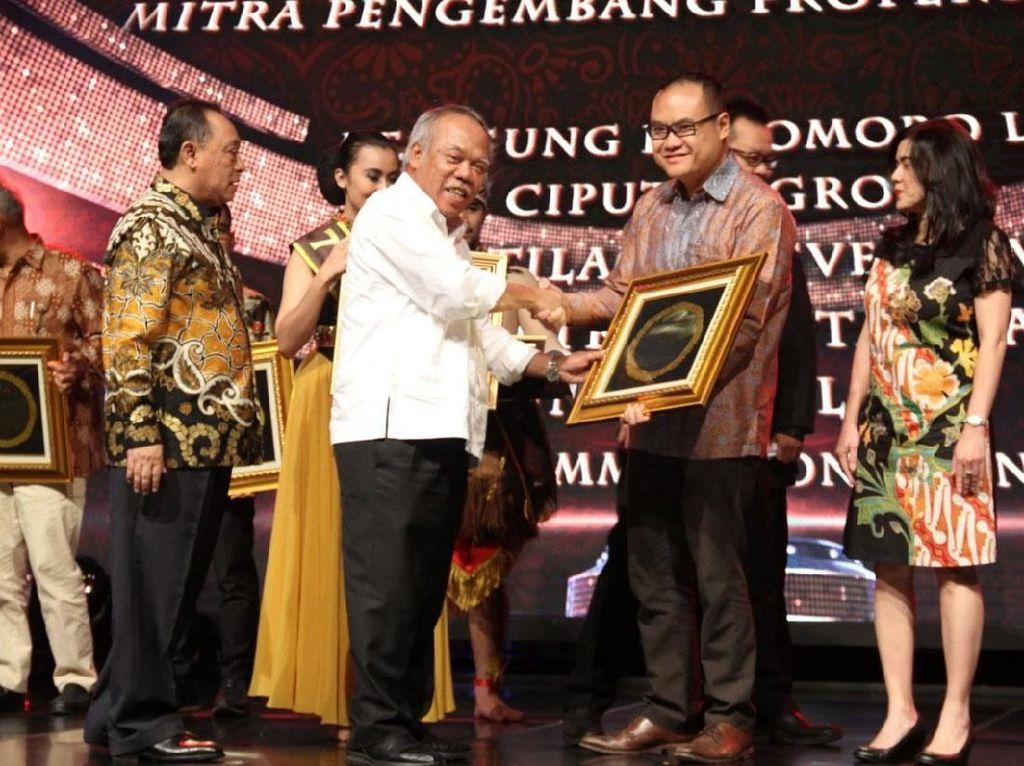 Intiland Raih Penghargaan Mitra Pengembang Properti Nasional Terbaik