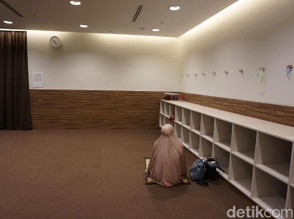 Foto: Melihat Musala di Bandara Changi Singapura