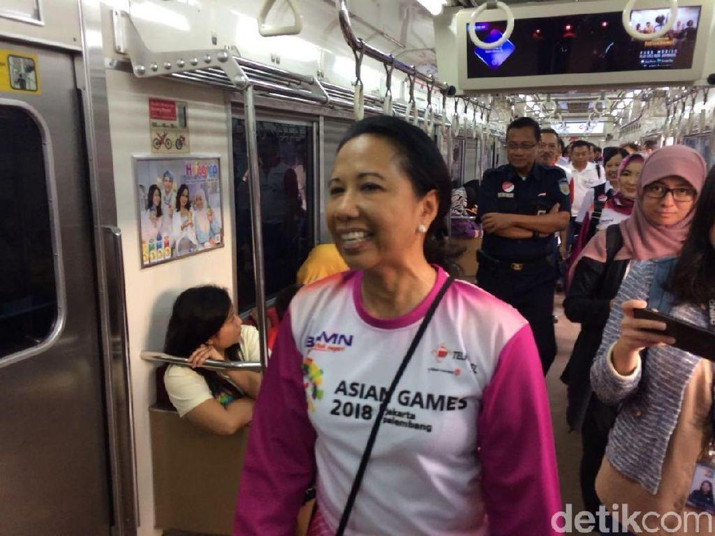 Rini Ngomel Jalur KRL Jakarta-Bogor Banyak Sampah, Ini Kata KAI
