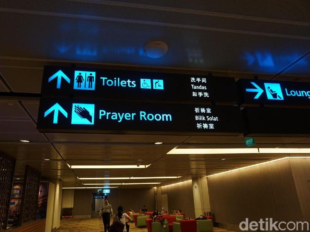 Bandara Changi: Kelas Internasional, Ramah Wisatawan Muslim