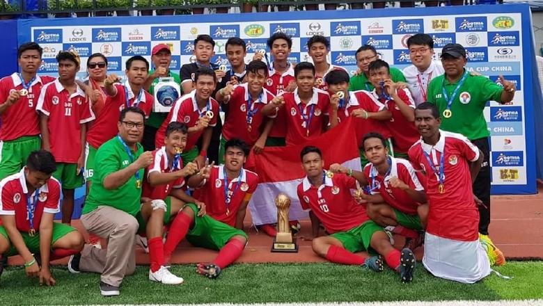 Tim Pelajar Indonesia Juarai Gothia Cup di China
