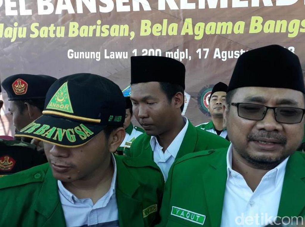 Maafkan Pria Gondrong Pemaki Idiot, GP Ansor: Hukum Jalan Terus