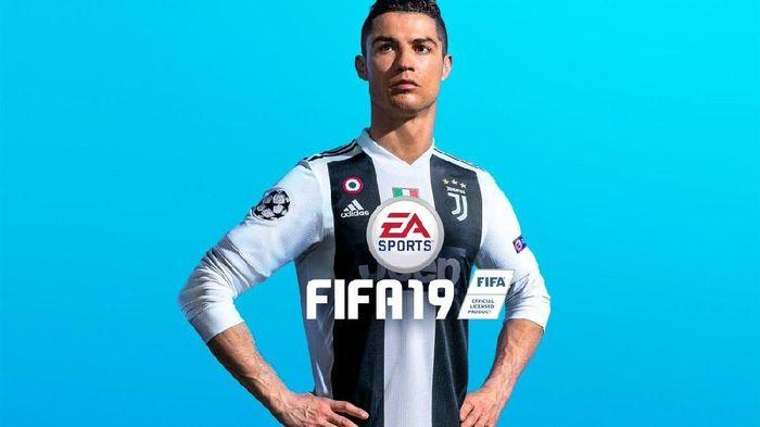 Cover FIFA 19 diganti dan tak lagi bergambar Cristiano Ronaldo. (Foto: Twitter/EASPORTSFIFA)