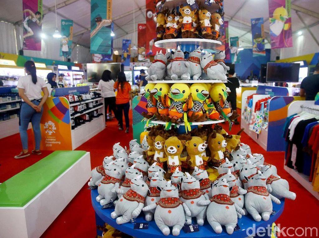 Masih Siang, Boneka Maskot Asian Games Sudah Ludes