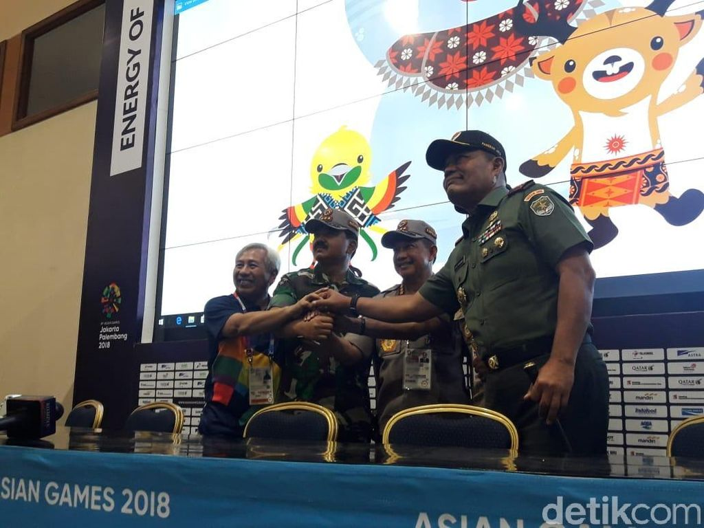 Panglima TNI: Drone Dilarang Saat Pembukaan Asian Games
