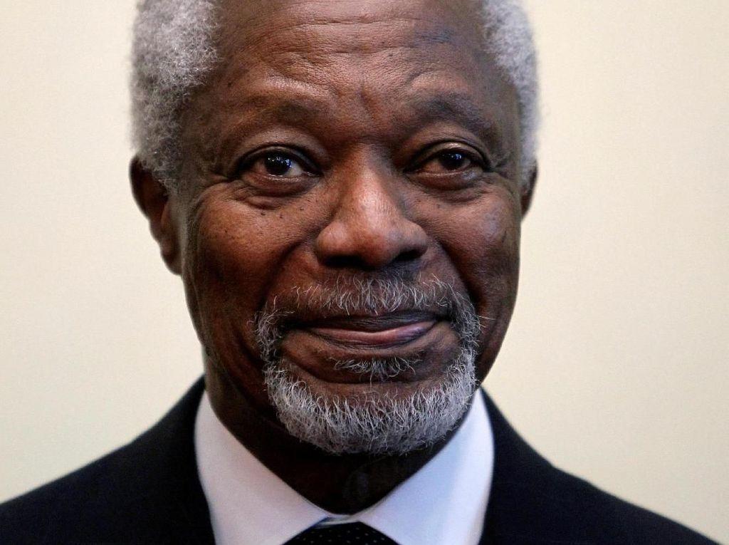 Kofi Annan Meninggal Dunia, Ghana Berkabung Selama Sepekan