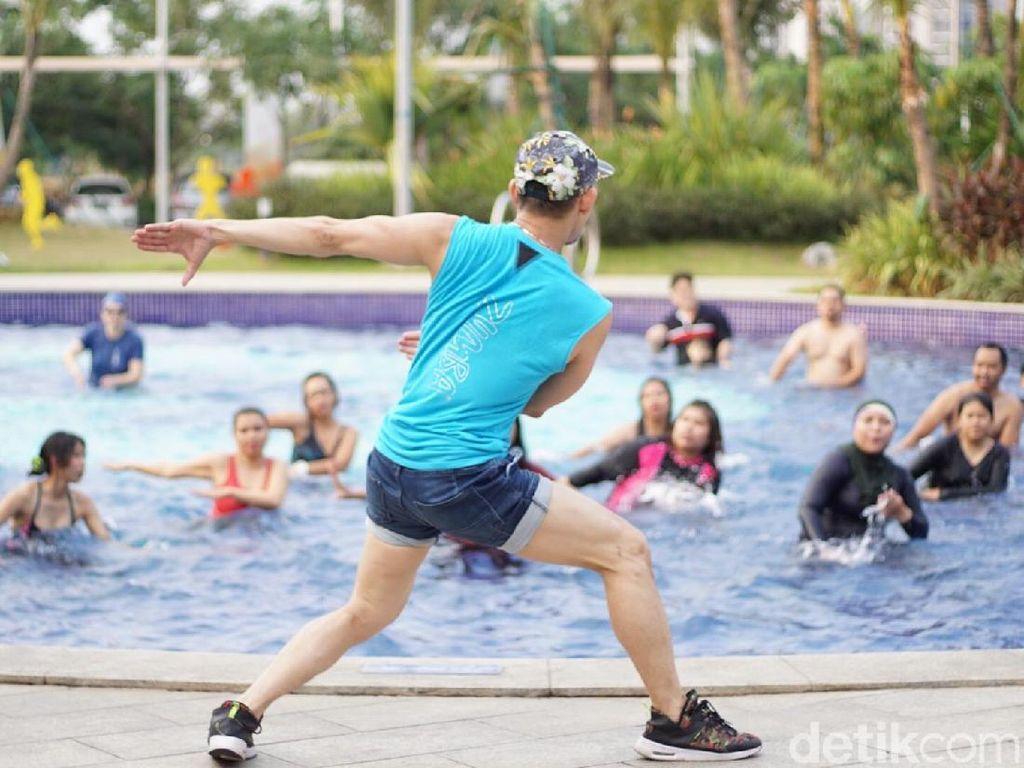 Aqua Zumba, Olahraga Seru yang Ramah Persendian