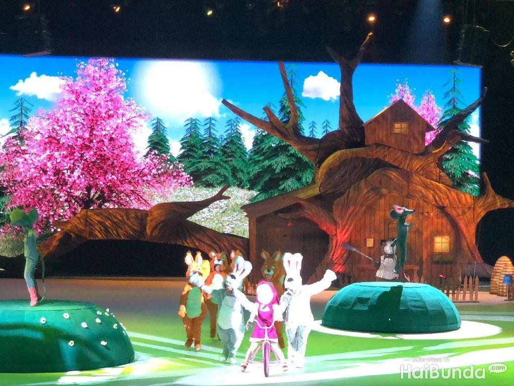 10 Foto Masha and The Bear on Ice yang Menghibur