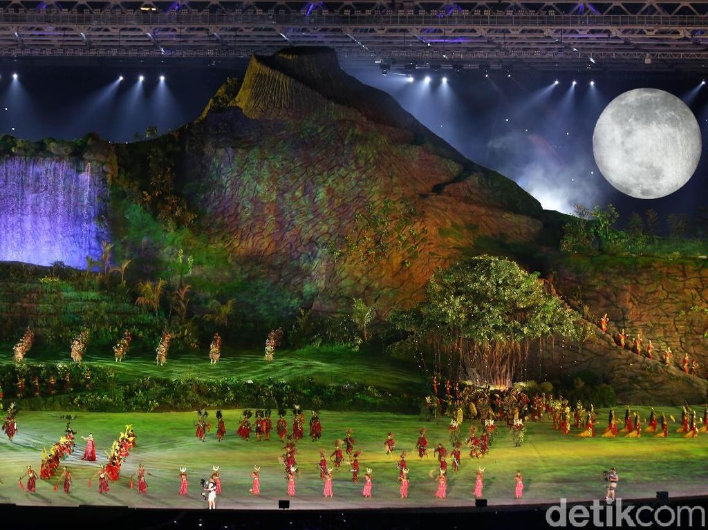 Pembukaan Asian Games 2018, Mewujudkan yang Tak Masuk Akal Jadi Kenyataan