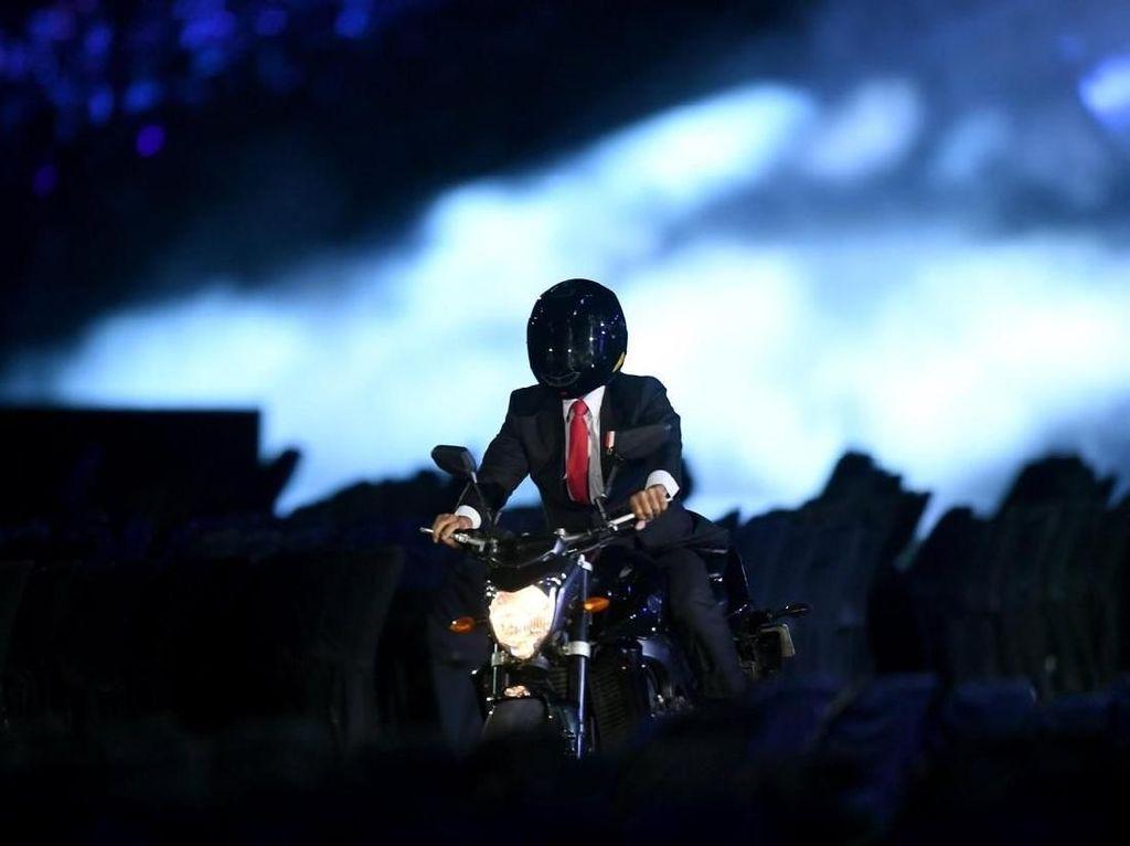 Sosok Freestyler Pengganti Jokowi Naik Moge Yamaha Terungkap