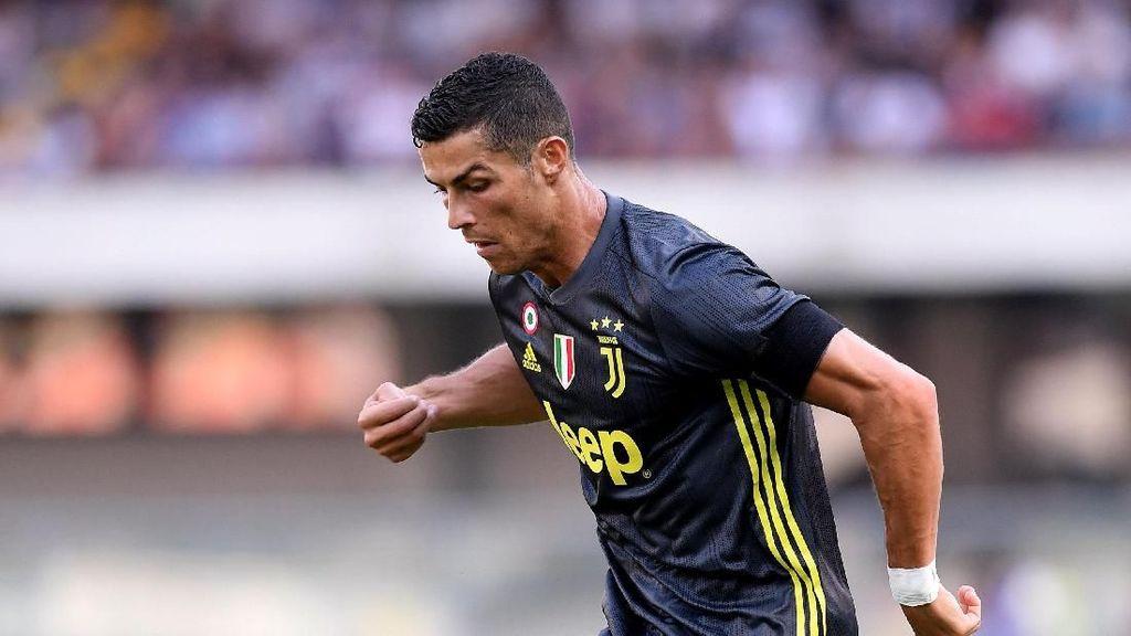 Nilai 7,5 untuk Debut Ronaldo di Juventus