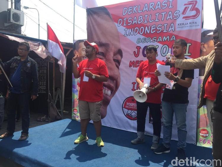 Kelompok Tuna Rungu Ini Deklarasikan Dukungan ke Jokowi-Maruf