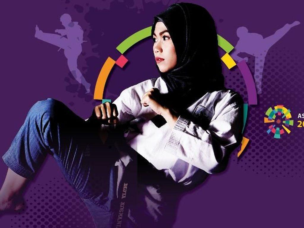 Defia Rosmaniar Peraih Emas Pertama Indonesia di Asian Games 2018!