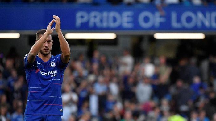 Eden Hazard dua kali dicadangkan pada dua laga perdana Premier League musim ini (REUTERS/Toby Melville)