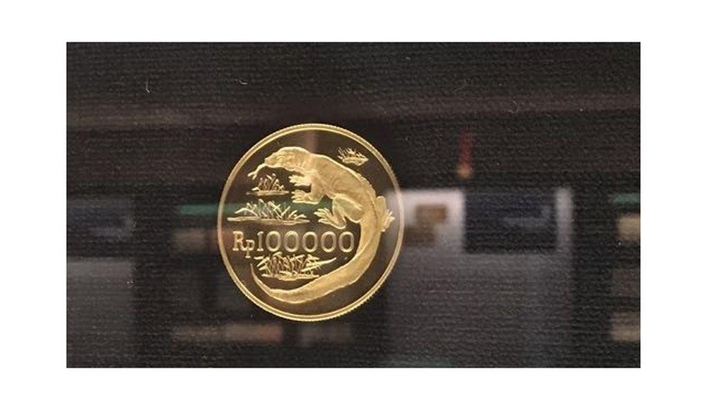 Pernah Lihat Uang Logam Pecahan Rp 100.000?