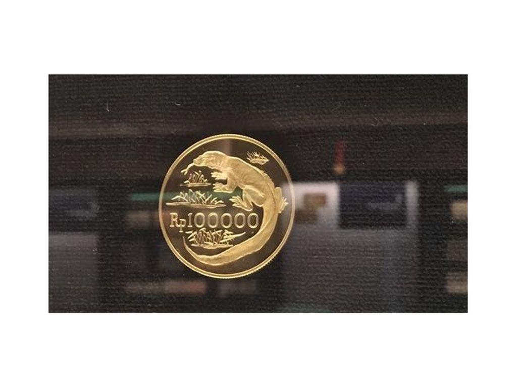 Begini Sejarah Hadirnya Uang Logam Emas Gambar Komodo