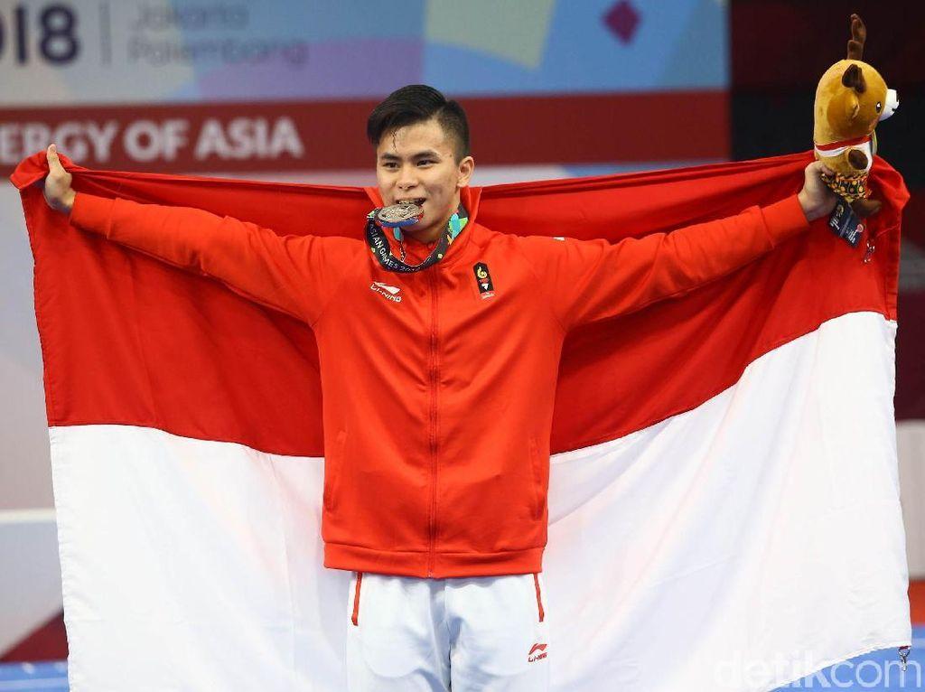 Medali Pertama Persembahan Xavier Untuk Indonesia
