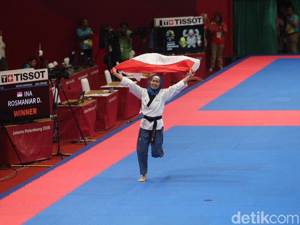 Hijabers Defia Beri Medali Emas Perdana untuk Indonesia di Asian Games