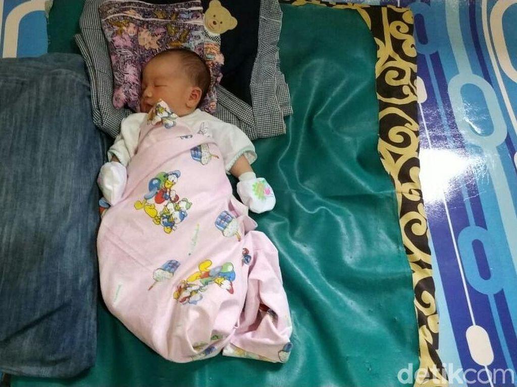 Unik! Bayi di Palembang Ini Dinamai Adibah Asian Games